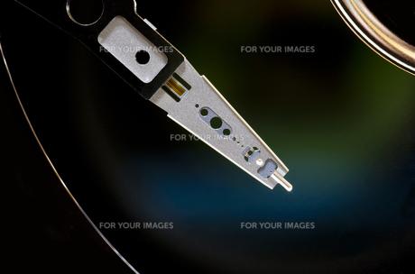 ハードディスクドライブ(内部)の写真素材 [FYI00392178]