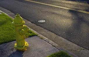 消火栓(アメリカ)の写真素材 [FYI00392199]