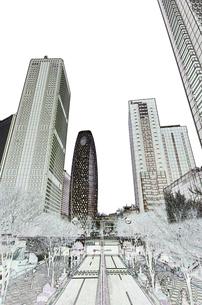 新宿高層ビル群の素材 [FYI00392207]