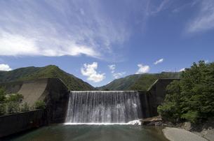 足尾砂防ダムの写真素材 [FYI00392227]