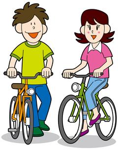 自転車1の写真素材 [FYI00392264]