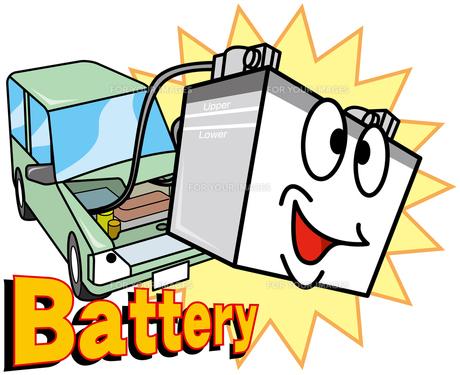 自動車バッテリーの写真素材 [FYI00392266]