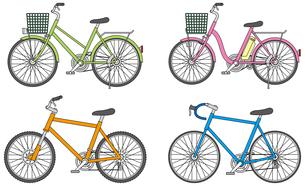 自転車2の写真素材 [FYI00392269]