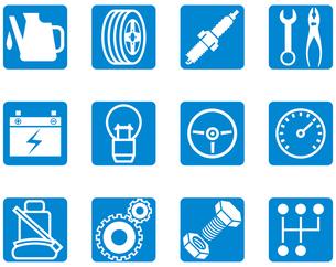 自動車整備アイコンの写真素材 [FYI00392275]