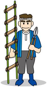 植木職人の写真素材 [FYI00392292]