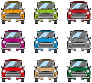 カラフルな自動車の写真素材 [FYI00392345]