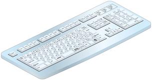 パソコンキーボードの写真素材 [FYI00392363]