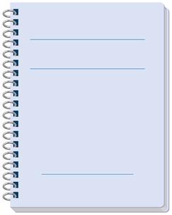 書き込むノートの素材 [FYI00392417]