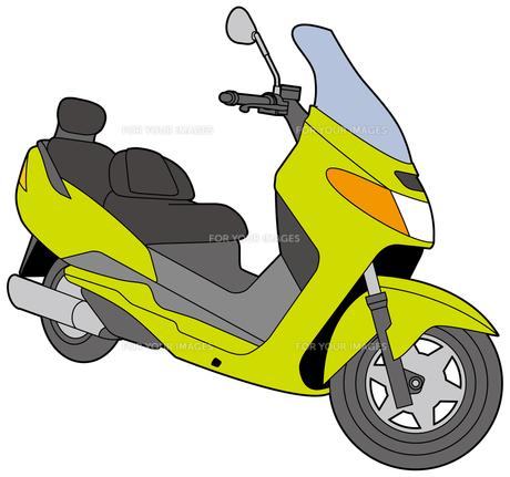 ビッグスクーターの写真素材 [FYI00392434]