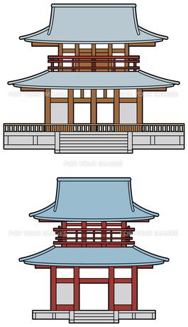 寺の山門の素材 [FYI00392451]