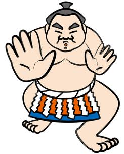 相撲取りの写真素材 [FYI00392472]