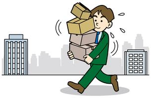 オフィス移転の写真素材 [FYI00392474]