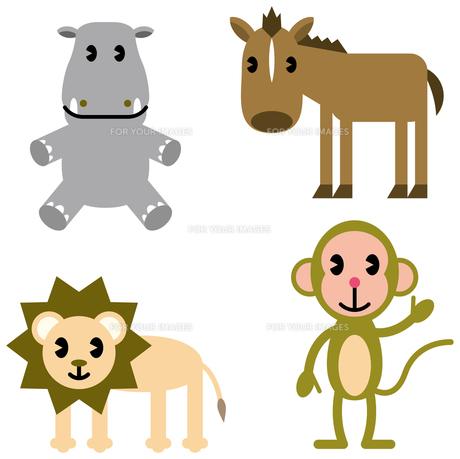 動物キャラクターの写真素材 [FYI00392508]
