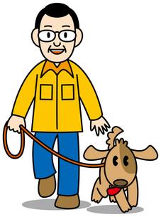 犬の散歩の写真素材 [FYI00392542]