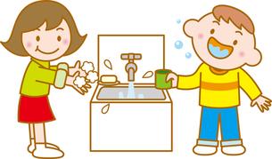 うがいと手洗いの写真素材 [FYI00392576]