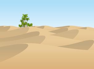 砂漠のオアシスの写真素材 [FYI00392636]