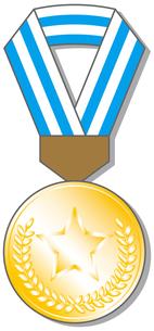 金メダルの写真素材 [FYI00392699]