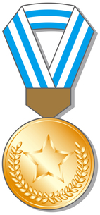銅メダルの写真素材 [FYI00392700]