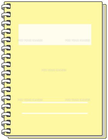 黄色いノートの素材 [FYI00392716]