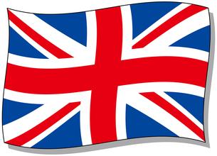 イギリス国旗の写真素材 [FYI00392755]