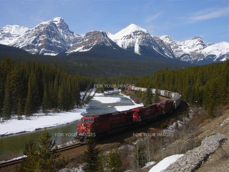 カナダ太平洋鉄道の写真素材 [FYI00392806]