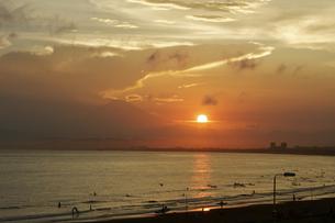 夕日の写真素材 [FYI00392811]