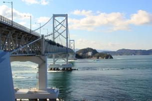 大鳴門橋の写真素材 [FYI00393295]