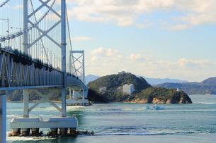 大鳴門橋の写真素材 [FYI00393308]