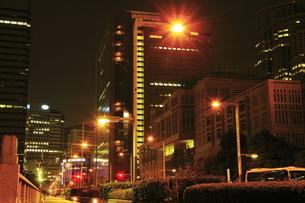 夜の都庁前の写真素材 [FYI00393481]