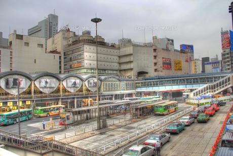 渋谷駅南口(HDR処理)の写真素材 [FYI00393514]