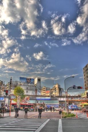 高田馬場駅・西武線側(HDR処理)の写真素材 [FYI00393706]