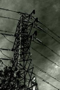 電力鉄塔の写真素材 [FYI00395599]