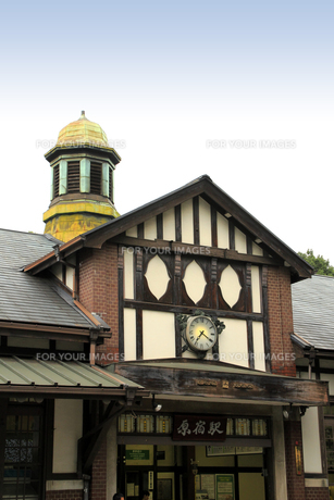 原宿駅(左前から)の写真素材 [FYI00396292]