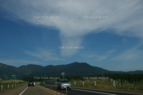 噴火雲の素材 [FYI00397116]