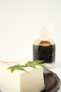絹ごし豆腐の写真素材 [FYI00397639]
