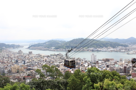 瀬戸内海を見下ろしての写真素材 [FYI00397840]