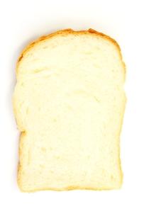食パンでメッセージの写真素材 [FYI00397881]