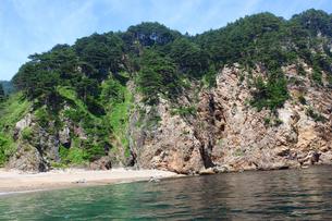 北山崎の海岸の写真素材 [FYI00399196]