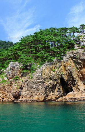北山崎の海岸の写真素材 [FYI00399197]