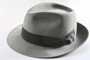 紳士の中折れ帽の写真素材 [FYI00399285]
