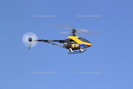 ラジコンヘリコプターの写真素材 [FYI00399455]