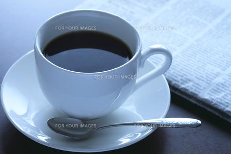 モーニングコーヒーの素材 [FYI00399670]