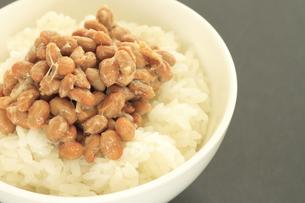 納豆ご飯の写真素材 [FYI00399673]