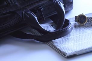 ビジネスバッグの写真素材 [FYI00399858]