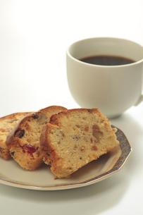 パウンドケーキとコーヒーの素材 [FYI00400181]
