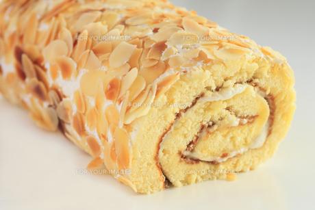 ロールケーキの写真素材 [FYI00400611]