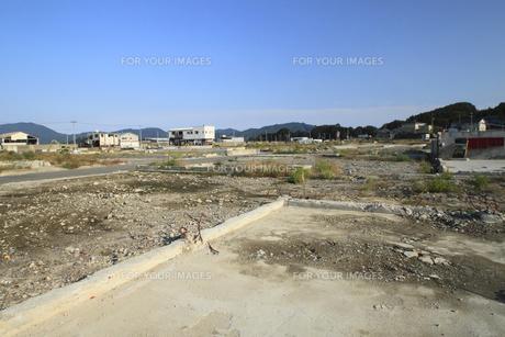 東日本大震災の復興の写真素材 [FYI00400693]