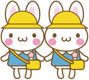 うさぎ 幼稚園 保育園の写真素材 [FYI00400704]