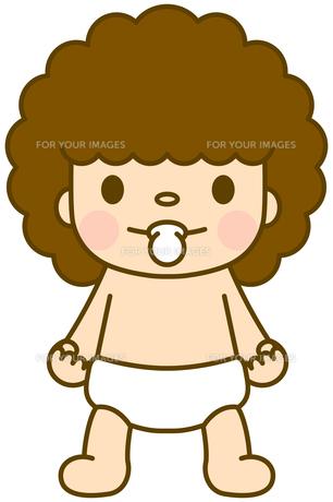 赤ちゃん ノーマルの写真素材 [FYI00400749]