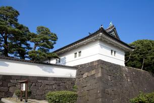 渡櫓門の写真素材 [FYI00403672]